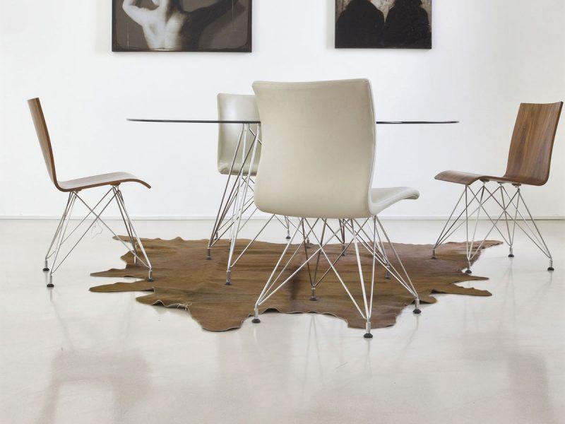 Pavimento in resina per la sala da pranzo