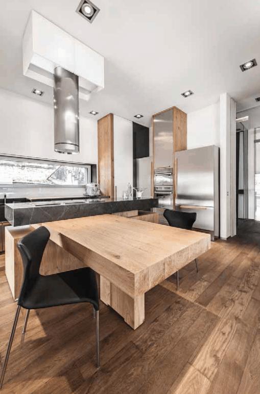 pavimento in legno resistente
